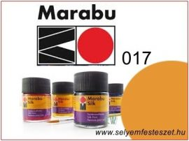 MARABU Selyemfesték |  50ml | Borostyán sárga | 017