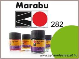 MARABU Selyemfesték |  50ml | Levélzöld | 282