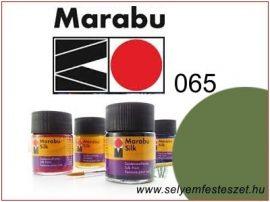 MARABU Selyemfesték |  50ml | Olívazöld | 065