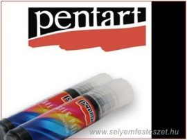 PENTART | Selyemkontúr | 20ml | Fénylő fekete