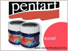 PENTART Selyemfesték |  50ml | Korall