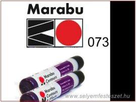 MARABU | Selyemkontúr | 25ml | 073 | Fekete