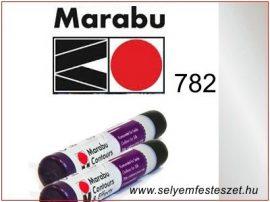 MARABU | Selyemkontúr | 25ml | 782 | Metál ezüst