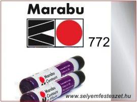 MARABU | Selyemkontúr | 25ml | 772 | Metál szürke