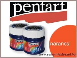 PENTART Selyemfesték |  50ml | Narancs