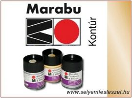 MARABU | Selyemkontúr | 50ml | 784 | Metál arany
