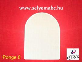 Selyem mandala boltív | 15x20cm | Pongé  5 | Arty's