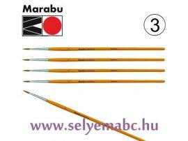 Ecset | MARABU |  3 mm méret