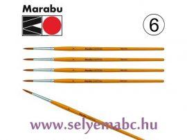 Ecset   MARABU    6 mm méret