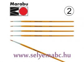 Ecset   MARABU    2 mm méret