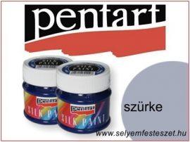 PENTART Selyemfesték    50ml   Szürke