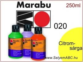 MARABU Selyemfesték | 250ml | Citromsárga | 020
