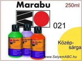MARABU Selyemfesték   250ml   Középsárga   021