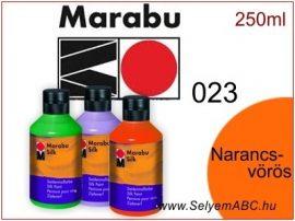 MARABU Selyemfesték   250ml   Narancsvörös   023