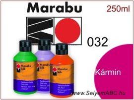 MARABU Selyemfesték | 250ml | Kármin | 032