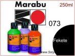 MARABU Selyemfesték | 250ml | Fekete | 073