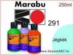 MARABU Selyemfesték | 250ml | Jégkék | 291