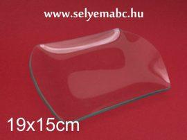 Hullámos szélű tál (süteményes tál)   19x15cm