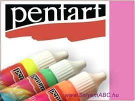 PENTART | Sötétben világító selyemkontúr | 20ml | Pink