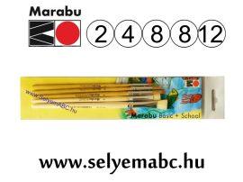 Ecset   MARABU   készlet 2-4-8-8-12 mm