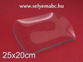 Hullámos szélű tál (süteményes tál) | 25x20cm