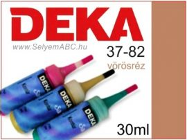 DEKA Selyemkontúr | 37-82 | 30ml | Vörösréz