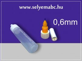 Műanyag tubus 20ml + Finomvonal kontúrozó  0,6mm