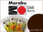 Marabu Por Selyemfesték | EasyColor - Batik | Barna | 046