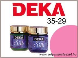 DEKA Selyemfesték | 35-29 | 25ml | Pink