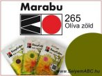Marabu Por Selyemfesték   EasyColor - Batik   Olíva zöld   265
