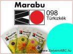 Marabu Por Selyemfesték   EasyColor - Batik   Türkizkék  098