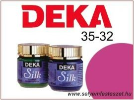 DEKA Selyemfesték | 35-32 | 25ml | Bordó