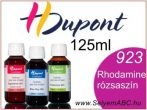 H.DUPONT Gőzfixálós Selyemfesték | 125ml | 923 - Rhodamine | Rhodamine rózsaszín