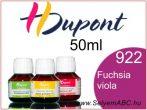 H.DUPONT Gőzfixálós Selyemfesték | 50ml | 922 - Fuchsia Violacé | Fuchsia Viola