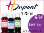 H.DUPONT Gőzfixálós Selyemfesték | 125ml | 904 - Delphinus | Delfin lila