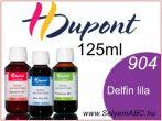H.DUPONT Gőzfixálós Selyemfesték   125ml   904 - Delphinus   Delfin lila