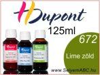 H.DUPONT Gőzfixálós Selyemfesték | 125ml | 672 - Tilleul | Lime zöld