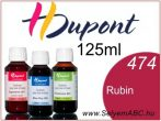 H.DUPONT Gőzfixálós Selyemfesték | 125ml | 474 - Rubis | Rubin