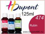 H.DUPONT Gőzfixálós Selyemfesték | 125ml | 474 - Rubis | Rubin