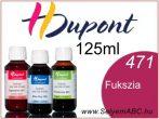 H.DUPONT Gőzfixálós Selyemfesték | 125ml | 471 - Fuchsia | Fukszia