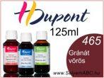 H.DUPONT Gőzfixálós Selyemfesték | 125ml | 465 - Grenat | Gránát vörös