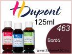H.DUPONT Gőzfixálós Selyemfesték | 125ml | 463 - Bordeaux | Bordó