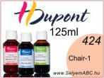H.DUPONT Gőzfixálós Selyemfesték | 125ml | 424 - Chair 1 | Chair 1