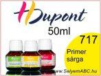 H.DUPONT Gőzfixálós Selyemfesték | 50ml | 717 - Jaune Primaire | Primer sárga