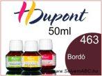 H.DUPONT Gőzfixálós Selyemfesték | 50ml | 463 - Bordeaux | Bordó