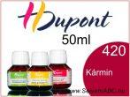 H.DUPONT Gőzfixálós Selyemfesték | 50ml | 420 - Carmin | Kármin