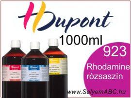 H.DUPONT Gőzfixálós Selyemfesték   1000ml   923 -Rhodamine   Rhodamine rózsaszín