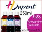 H.DUPONT Gőzfixálós Selyemfesték   250ml   923 - Rhodamine   Rhodamine rózsaszín