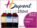 H.DUPONT Gőzfixálós Selyemfesték | 250ml | 922 - Fuchsia Violacé | Fuchsia Viola