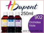 H.DUPONT Gőzfixálós Selyemfesték   250ml   902 -OrchidéeViolacée   OrchideaViola